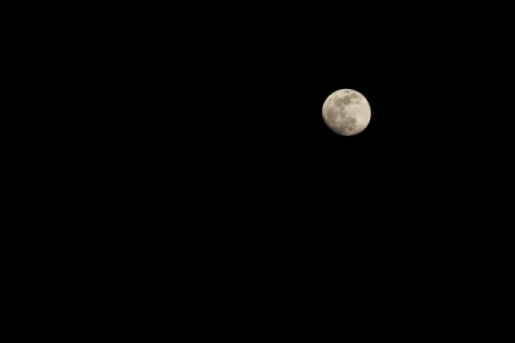 The moon pics are all from the same night but the exposure time was different.